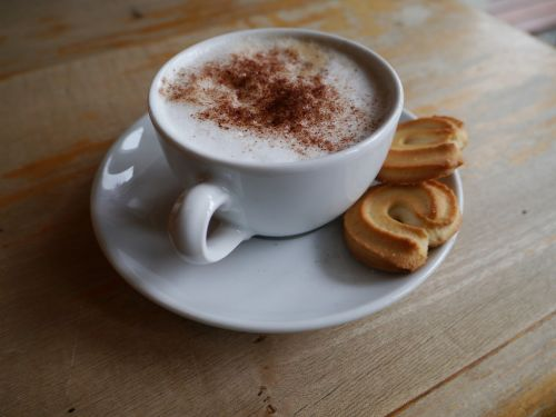 breakfast cappuccino biscuits