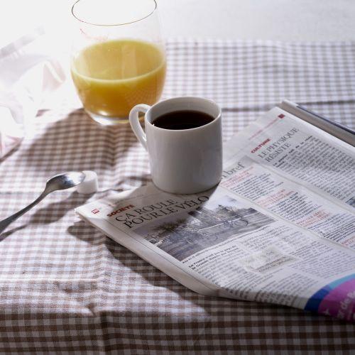 breakfast journal orange juice