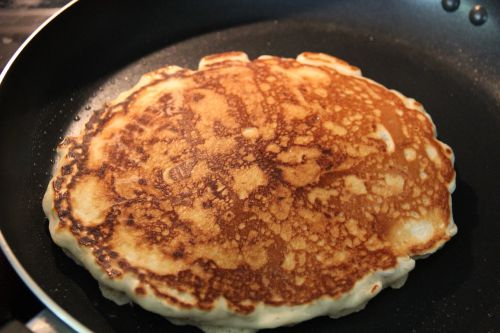 breakfast pancake golden