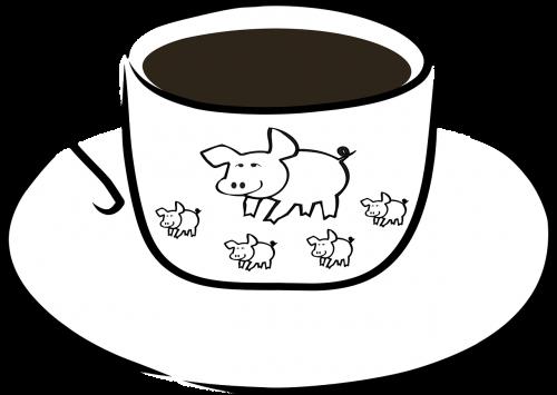 breakfast coffee cup