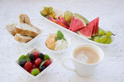 breakfast healthy fruit
