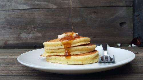 breakfast pancake syrup