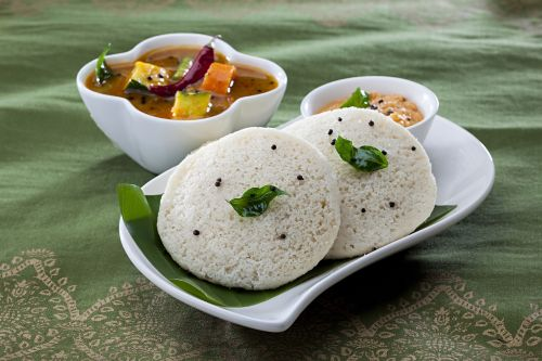 breakfast idli indian-foods
