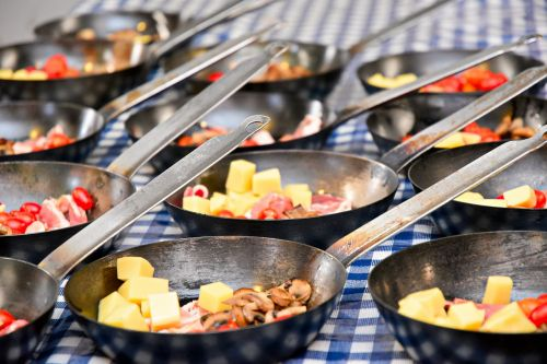 breakfast hot breakfast tasty meal