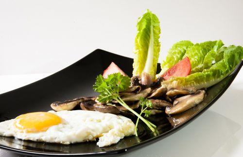 vegetarian fried mushrooms