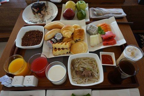 breakfast  room service  pool villa