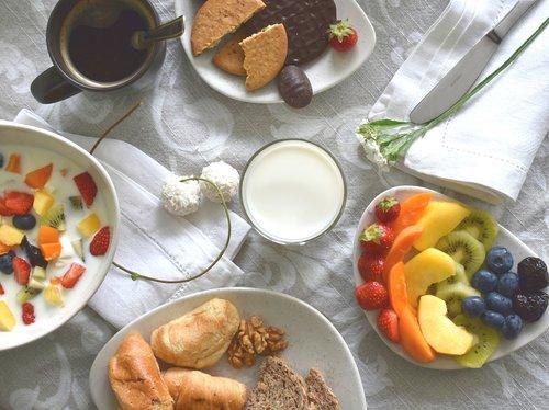 breakfast  food  flatlay