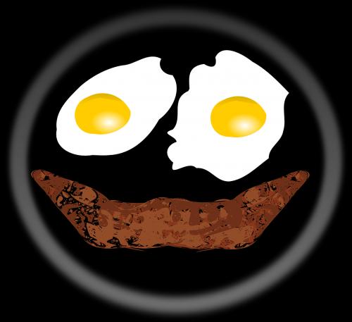 breakfast eggs bacon