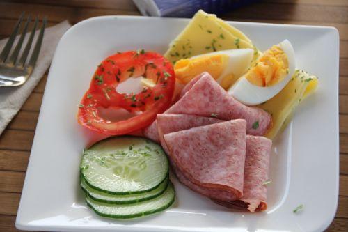 breakfast eat own creation