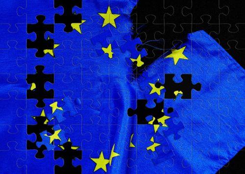 breaking point euro flag european union