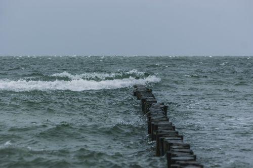breakwater sea wave