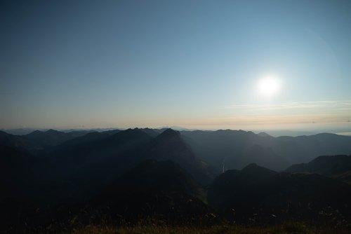 bregenzerwald  austria  panorama