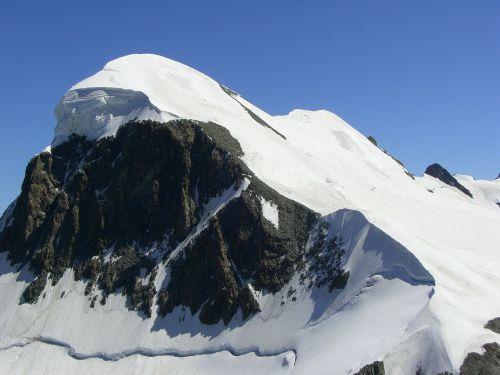 breithorn alpine valais