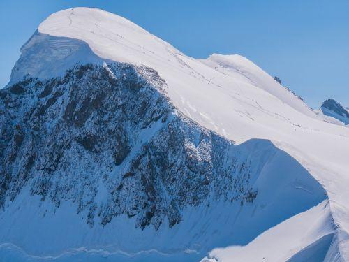 breithorn snow valais