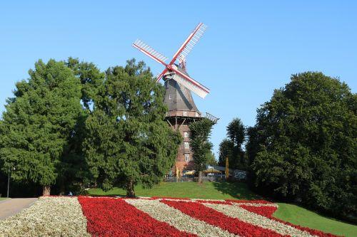 bremen windmill on wall wall windmill