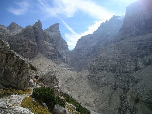 brenta mountains alpine