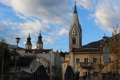 bressanone steeple south tyrol