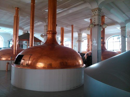 brewery forms copper