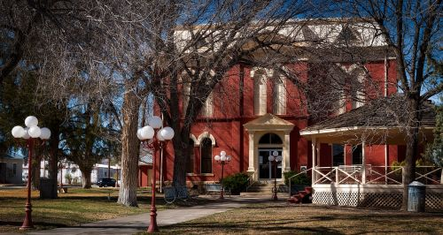 brewster county courthouse building