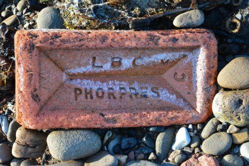 brick weathered aged