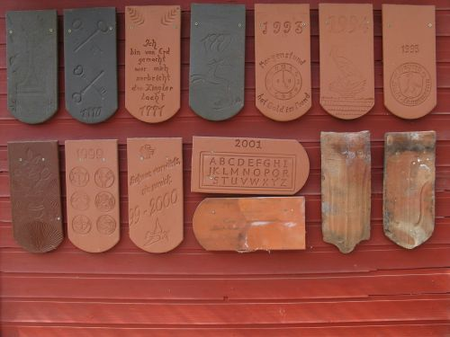 brick tile year brick