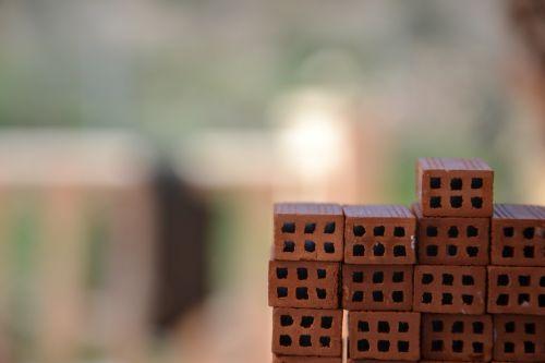 brick stack model