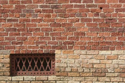 brick background grate