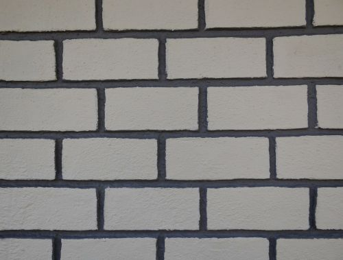 brick wall grooved