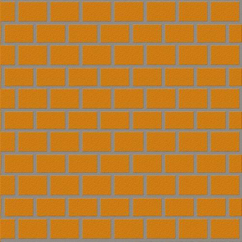 brick wall wall house