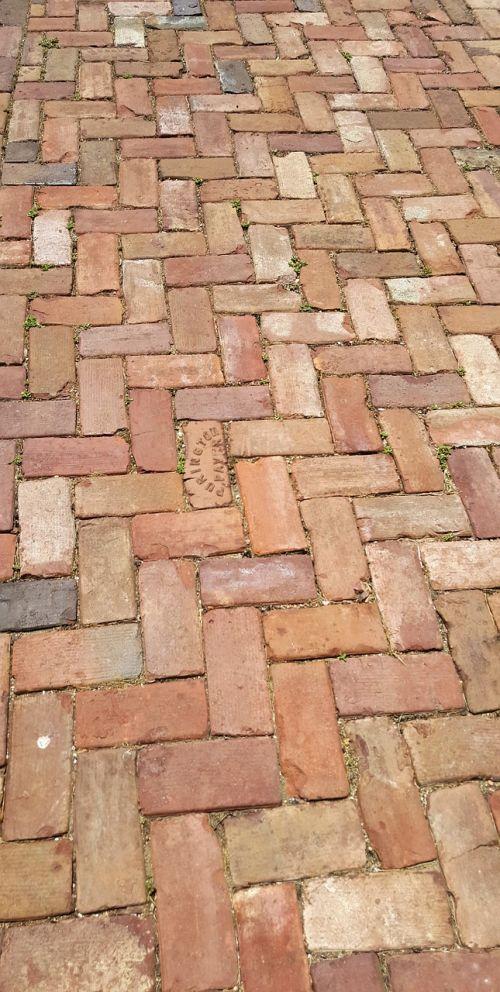 brick stone walkway