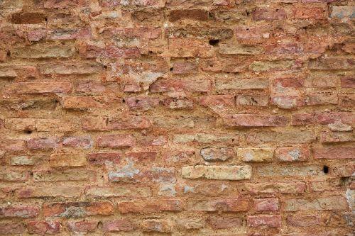 brick red background