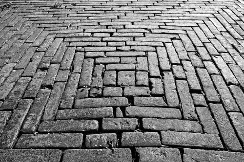 brick paving sidewalk