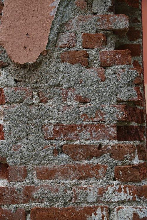 brick  exposed  cement