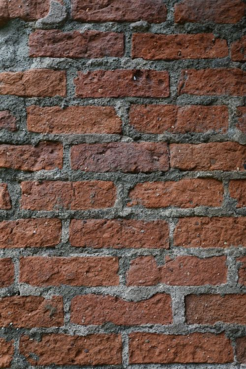 brick brick wall old