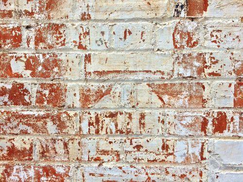 brick wall aged
