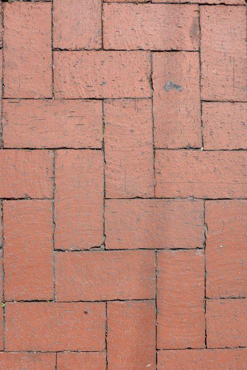 brick red pattern