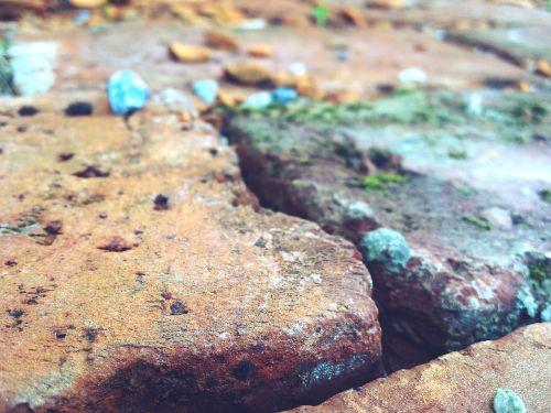 brick,wall,stone,mosaic,bricks,brick wall,pebble,pebbles,colorful brick,structure,stone wall,building,ground,house wall,masonry,natural stone wall,natural stones,sand stone,red,weathered,bricked,rau,background,blue,colorful,moss