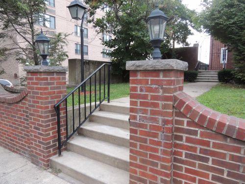 Brick Gated Entry
