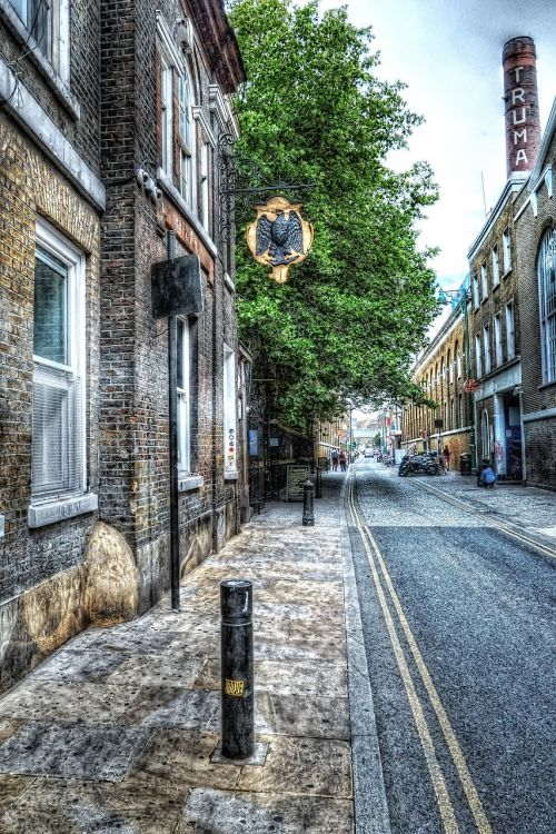 brick lane london street