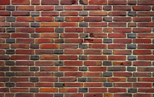 brick wall wall brick