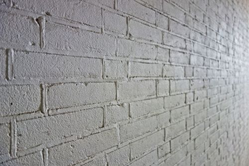 brick wall wall white brick wall