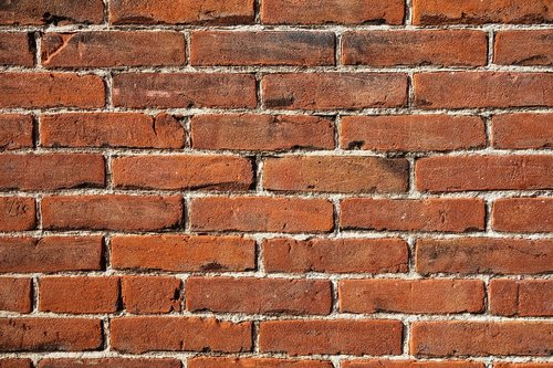 brick wall  red brick wall  wall