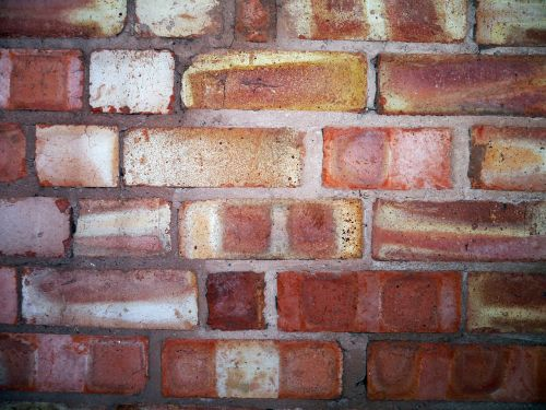 brick wall hard construction