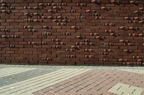 Brick Wall And Floor