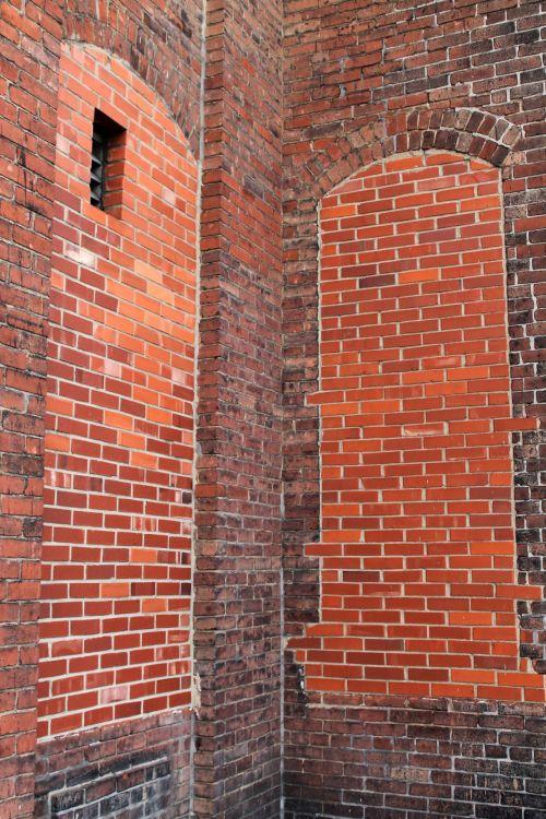 Brick Wall Corner-Background