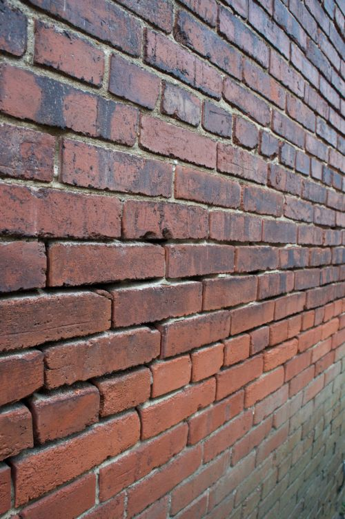 Brick Wall In Detail