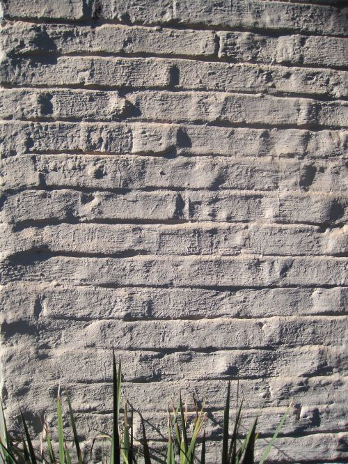 Brick Wall In White