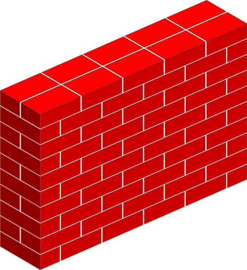 bricks thick wall