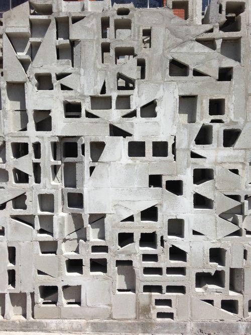 bricks cinder blocks block
