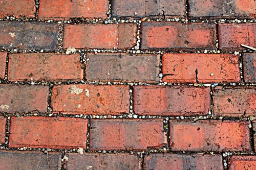 bricks gravel photo